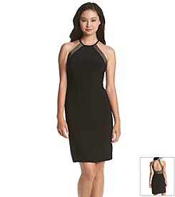 Morgan & Co.® Illusion Dress