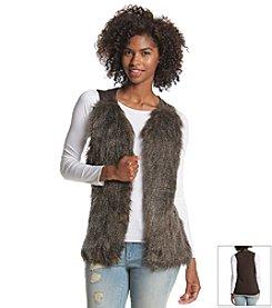 A. Byer Faux Fur Vest