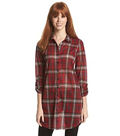 w.f. Plaid Tunic