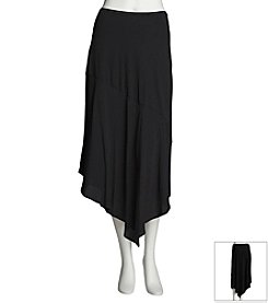 Chaus Seamed Asymmetric Skirt