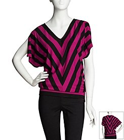 Chaus Dream Line Stripe Top