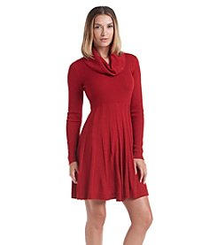 Calvin Klein Fit And Flare Sweater Dress