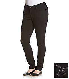Earl Jean® Plus Size Studded Patch Skinny Jeans