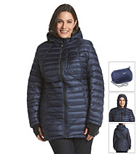 Halifax Plus Size Three-Quarter Hooded Packable Down Coat