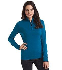 Le Tigre Zip Solid Sweater