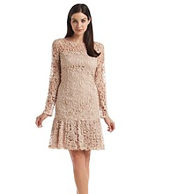 Adrianna Papell® Lace Flounce Dress