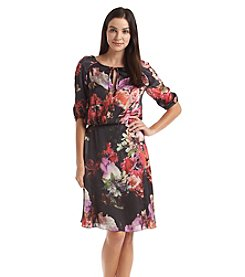 Adrianna Papell® Floral Blouson Dress