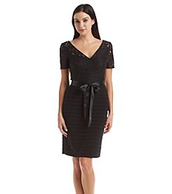 Adrianna Papell® Lace Top Dress