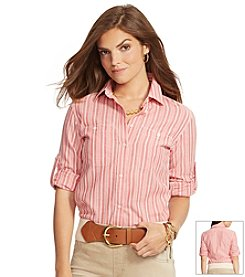 Lauren Jeans Co.® Striped Button-Down Shirt