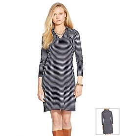 Lauren Jeans Co.® Striped Cotton Shirtdress