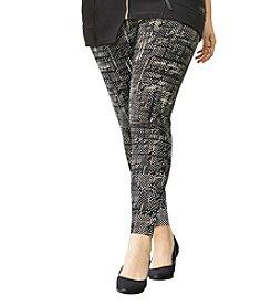 Calvin Klein Performance Plus Size Scratch Print Leggings
