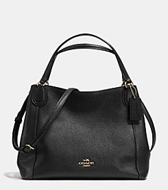 COACH EDIE SHOULDER BAG 28 IN PEBBLE LEATHER