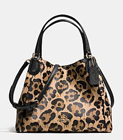 COACH EDIE SHOULDER BAG 28 IN WILD BEAST PRINT LEATHER