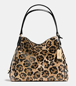 COACH EDIE SHOULDER BAG 31 IN WILD BEAST PRINT LEATHER