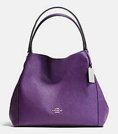 COACH EDIE 31 SHOULDER BAG IN CROSSGRAIN LEATHER