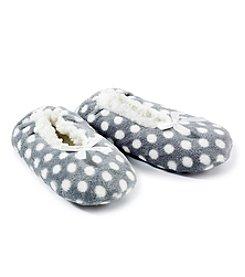 Fuzzy Babba® Polka Dot Slippers