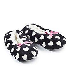 Fuzzy Babba® Hearts Slippers