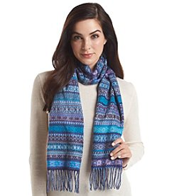V. Fraas Mini Fair Isle Cashmink® Scarf