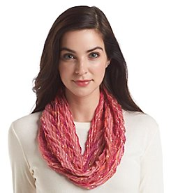 Collection 18 Chevron Pleat Single Loop Scarf