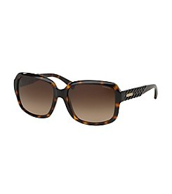 COACH BRAIDED SQUARE SUNGLASSES