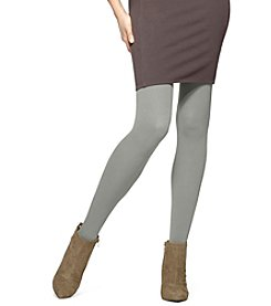 HUE® Classic Rib Tights With Control Top
