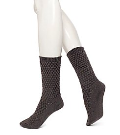 HUE® Quilted Boot Socks