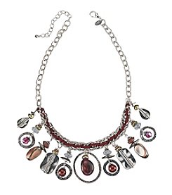 Laura Ashley® Two Tone Shaky Frontal Necklace