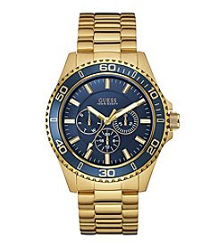 GUESS Men's Goldtone Chase Watch