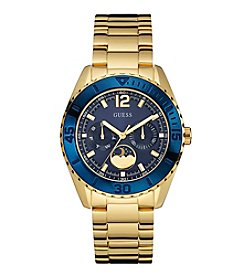 GUESS Women's Goldtone Multifunction Watch