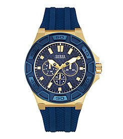 GUESS Men's Goldtone Force Watch