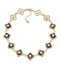Carolee® Goldtone Fashion Avenue Collar Necklace