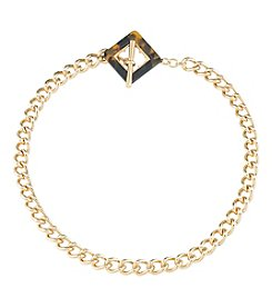 Carolee® Goldtone Fashion Avenue Chain Link Necklace