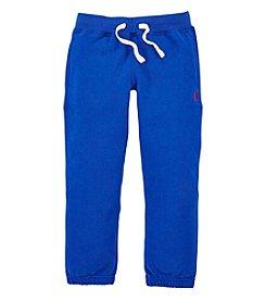 Ralph Lauren Childrenswear Boys' 2T-20 Solid Fleece Pants