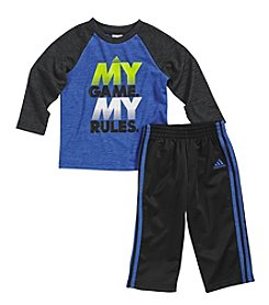 adidas® Baby Boys' 12-24 Month My Game My Rules Pants Set