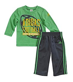adidas® Baby Boys' 12-24 Month Can't Be Stopped Pants Set