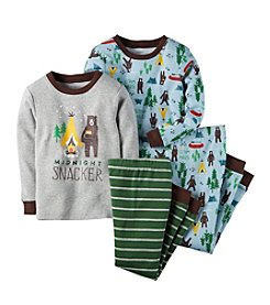 Carter's® Boys' 2T-4T 4-Piece Snug Fit Cotton Pjs