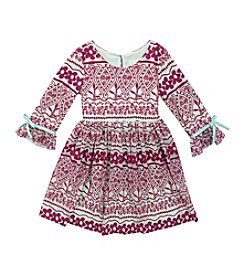 Rare Editions® Girls' 4-6X Floral Lace Dress