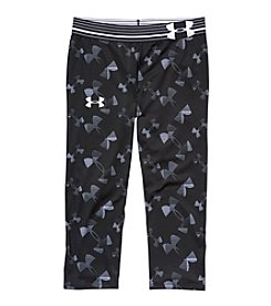 Under Armour® Girls' 7-16 Printed Logo Capris