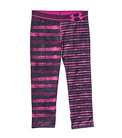 Under Armour® Girls' 7-16 Linear Printed Capris