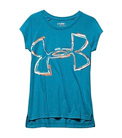 Under Armour® Girls' 7-16 Impulse Logo Crew Neck Top