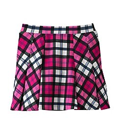 Jessica Simpson Girls' 7-16 Selena Plaid Flared Skirt