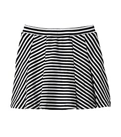 Jessica Simpson Girls' 7-16 Selena Striped Flared Skirt