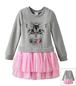 Disney® Girls' 4-6X Dutchess Kitty Sweater Top Dress