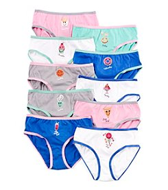 Maidenform® Girls' 10-Pk. Days of the Week Underwear