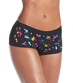 Maidenform® Girls' Paint Splatter Boyshorts