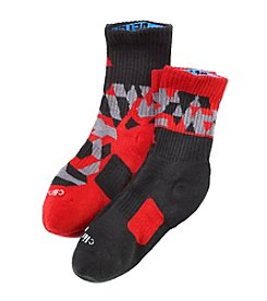 adidas® Boys' Camo Crew Socks