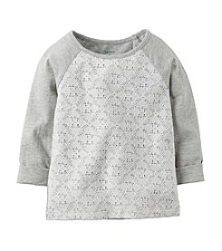 Carter's® Girls' 2T-6X Raglan Lace Tee