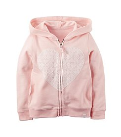 Carter's® Girls' 2T-6X French Terry Hoodie