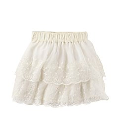 Carter's® Girls' 2T-6X Scalloped Lace Skirt