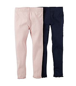 Carter's® Girls' 2T-6X 2-Pack Leggings